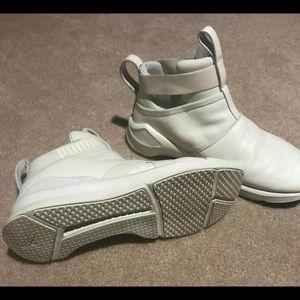 White Puma women shoes